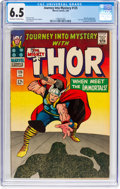 Silver Age (1956-1969):Superhero, Journey Into Mystery #125 (Marvel, 1966) CGC FN+ 6.5 Off-white towhite pages....