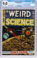 Golden Age (1938-1955):Science Fiction, Weird Science #11 (EC, 1952) CGC VF/NM 9.0 Off-white to white pages....