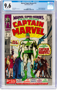 Marvel Super-Heroes #12 (Marvel, 1967) CGC NM+ 9.6 Off-white pages