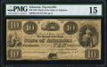 Obsoletes By State:Arkansas, Little Rock, AR- State Bank of Arkansas, Fayetteville Branch $10 Post Note Apr. 6, 1838 G158 Rothert 186-7 PMG Choice Fine...