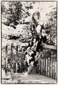 , Peter Beard (American, b. 1938). Lunch with Cheryl Tiegs in Provo, Utah, 1975-1976. Gelatin silver, printed later. 19-3/...