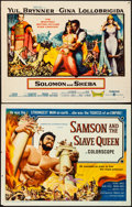 Movie Posters:Action, Samson and the Slave Queen & Other Lot (American Internati...