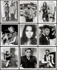"""Dillinger (American International, 1973). Photos (27) & Behind-The-Scenes Photos (3) (Approx. 8"""" X 10""""). C..."""