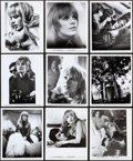 """Movie Posters:Exploitation, The Girl on a Motorcycle (Warner Brothers, 1968). Photos (21) & Behind-The-Scenes Photos (3) (8"""" X 10""""). Exploitation.. ... (Total: 24 Items)"""