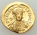 Ancients:Roman Imperial, Ancients: Zeno, Eastern Roman Empire (second reign, AD 476-491). AVsolidus (20mm, 4.51 gm, 6h). AU, bent....