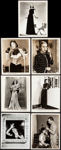 Movie Posters:Miscellaneous, Fay Wray Lot (Various, 1930s). Photos (11) (Approx...