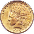 Indian Eagles, 1915 $10 MS66 PCGS Secure....