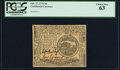 Colonial Notes:Continental Congress Issues, Continental Currency February 17, 1776 $4 PCGS Choice New 63.. ...