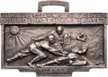 Baseball Collectibles:Others, 1931 Tour of Japan Medallion from The Lou Gehrig Collection....