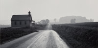 George A. Tice (American, b. 1938) One Room Schoolhouse, Lancaster, Pennslyvania and Ice #18, New Je