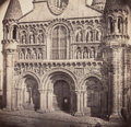 Photographs, Séraphin-Médéric Mieusement and Charles de Souancé (French, 1840-1905; 1823-1896). Church Façade, 1861-1863. Albumen pri...