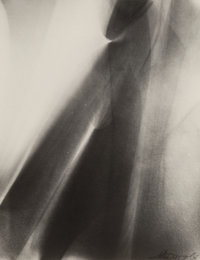 Lotte Jacobi (American, 1896-1990) Untitled (Light Abstraction), circa 1955 Gelatin silver, printed