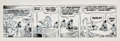 Original Comic Art:Comic Strip Art, Walt Kelly Pogo Daily Comic Strip Original Art dated 5-22-70 (Publishers-Hall Syndicate, Inc., 1970). ...