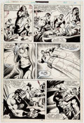 Original Comic Art:Panel Pages, Gene Colan and Bob Wiacek What If? #21 Story Page 27Original Art (Marvel, 1980)....