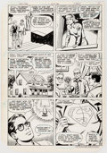Original Comic Art:Panel Pages, Kurt Schaffenberger and Dave Hunt The New Adventures ofSuperboy #30 Story Page 8 Original A...