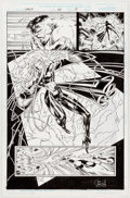 Original Comic Art:Panel Pages, Ian Churchill and Scott Hanna Cable #34 Page 15 Original Art(Marvel, 1996)....