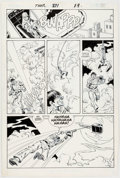 Original Comic Art:Panel Pages, Sal Buscema Thor #371 Page 15 Original Art (Marvel,1986)....