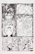 Original Comic Art:Panel Pages, Jim Lee and Scott Williams WildC.A.T.s: Covert Action Teams#13 Story Page 21 Original Art (...