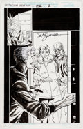 Original Comic Art:Splash Pages, Sal Buscema and Jimmy Palmiotti Spectacular Spider-Man #232Splash Page 2 Original Art (Marvel, 1996)....