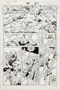 Original Comic Art:Panel Pages, Sal Buscema Thor #371 Page 20 Original Art (Marvel,1986)....