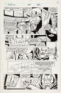 Original Comic Art:Panel Pages, Sal Buscema and Mike Esposito Spectacular Spider-Man #159Page 6 Original Art (Marvel, 1989)...