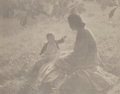 Photographs, Edward Steichen (American, 1879-1973). Mother and Child, Sunlight, 1905. Platinum print, printed later. 4-3/4 x 6 inches...