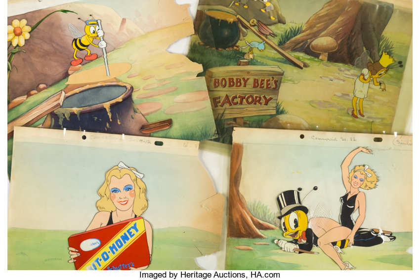 Bit-O-Honey Theatrical Commercial Production Cel, Animation