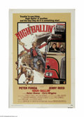 """Movie Posters:Action, High-Ballin' (AIP, 1978) One Sheet (27"""" X 41""""). This is a vintage, theater used poster for this action drama that was direct..."""