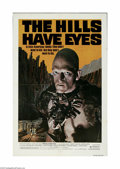 "Movie Posters:Horror, The Hills Have Eyes (Vanguard, 1977) One Sheet (27"" X 41""). This is a vintage, theater used poster for this horror thriller ..."