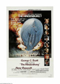 "Movie Posters:Thriller, The Hindenburg (Universal, 1975) One Sheet (27"" X 41""). This is a vintage, theater used poster for this drama thriller that ..."
