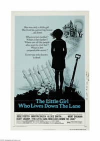 """The Little Girl Who Lives Down the Lane (AIP, 1976) One Sheet (27"""" X 41""""). This is a vintage, theater used pos..."""
