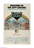 """Movie Posters:Science Fiction, Logan's Run (MGM, 1976) Poster (40"""" X 60""""). This is a vintage,theater used poster for this sci-fi action adventure that was..."""