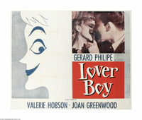 "Lover Boy (AFE, 1954) Six Sheet (81"" X 81""). This is a vintage, theater used poster for this drama that was di..."