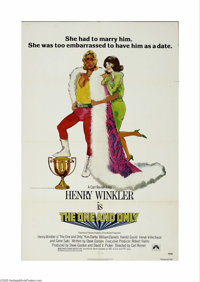 """The One and Only (Paramount, 1978) One Sheet (27"""" X 41""""). This is a vintage, theater used poster for this come..."""