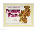 "Movie Posters:Adventure, Prehistoric Women (Warner Brothers, 1967) Half Sheet (22"" X 28"").This is a vintage, theater used poster for this sci-fi adv..."