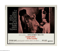 "A Quiet Place in the Country (United Artists, 1969) Half Sheet (22"" X 28""). This is a vintage, theater used po..."