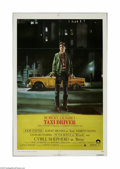 "Movie Posters:Crime, Taxi Driver (Columbia, 1976) One Sheet (27"" X 41""). This is avintage, theater used poster for this intense drama that was d..."
