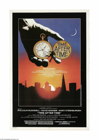 """Time After Time (Warner Brothers, 1979) One Sheet (27"""" X 41""""). This is a vintage, theater used poster for this..."""