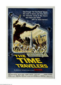 """Movie Posters:Science Fiction, The Time Travelers (American International, 1964) One Sheet (27"""" X41""""). This is a vintage, theater used poster for this sci..."""