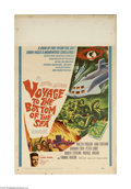 "Movie Posters:Adventure, Voyage to the Bottom of the Sea (1961) (20th Century Fox, 1961)Window Card (14"" X 22""). This is a vintage, theater used pos..."