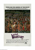 "Movie Posters:Action, The Warriors (Paramount, 1979) One Sheet (27"" X 41""). This is avintage, theater used poster for this gang drama that was di..."