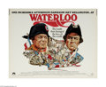 """Movie Posters:War, Waterloo (Paramount, 1970) Half Sheet (22"""" X 28""""). This is avintage, theater used poster for this war drama that was direct..."""