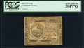 Colonial Notes:Continental Congress Issues, Continental Currency November 2, 1776 $6 PCGS Choice About New58PPQ.. ...