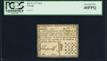 Colonial Notes:Georgia, Georgia June 8, 1777 $1/3 PCGS Extremely Fine 40PPQ.. ...