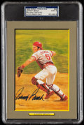 Autographs:Post Cards, 1990 Johnny Bench Signed Perez-Steele Great Moments #49, PSA/DNA MT 9....