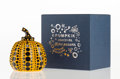 Collectible, Yayoi Kusama (b. 1929). Pumpkin (Yellow), n.d.. Painted cast resin. 4 x 3-1/4 x 3-1/4 inches (10.2 x 8.3 x 8.3 cm). Stam...