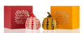 General Americana, Yayoi Kusama (b. 1929). Red and Yellow Pumpkin (two works),n.d.. Painted cast resin. 4 x 3-1/4 x 3-1/4 inches (10.2 x 8...(Total: 2 Items)