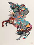 Prints & Multiples:Print, Tristan Eaton (American, b. 1978). The Revolution will be Trivialized (Silver Edition), 2017. Ink jet print in colors on...