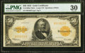 Large Size:Gold Certificates, Fr. 1200 $50 1922 Mule Gold Certificate PMG Very Fine 30.. ...