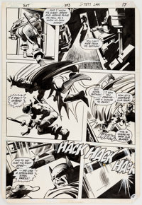 Gene Colan and Klaus Janson Batman #343 Story Page 15 Original Art (DC, 1982)